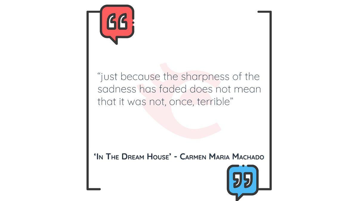 QOTD: 'In The Dream House' – Carmen Maria Machado