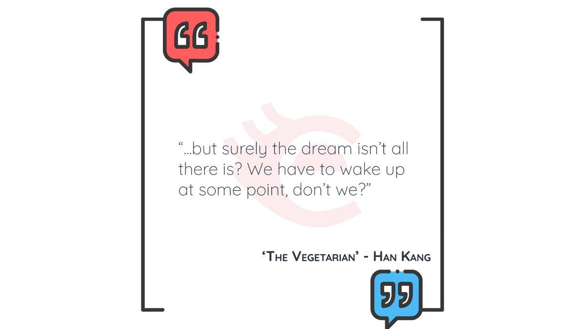 QOTD: 'The Vegetarian' – Han Kang