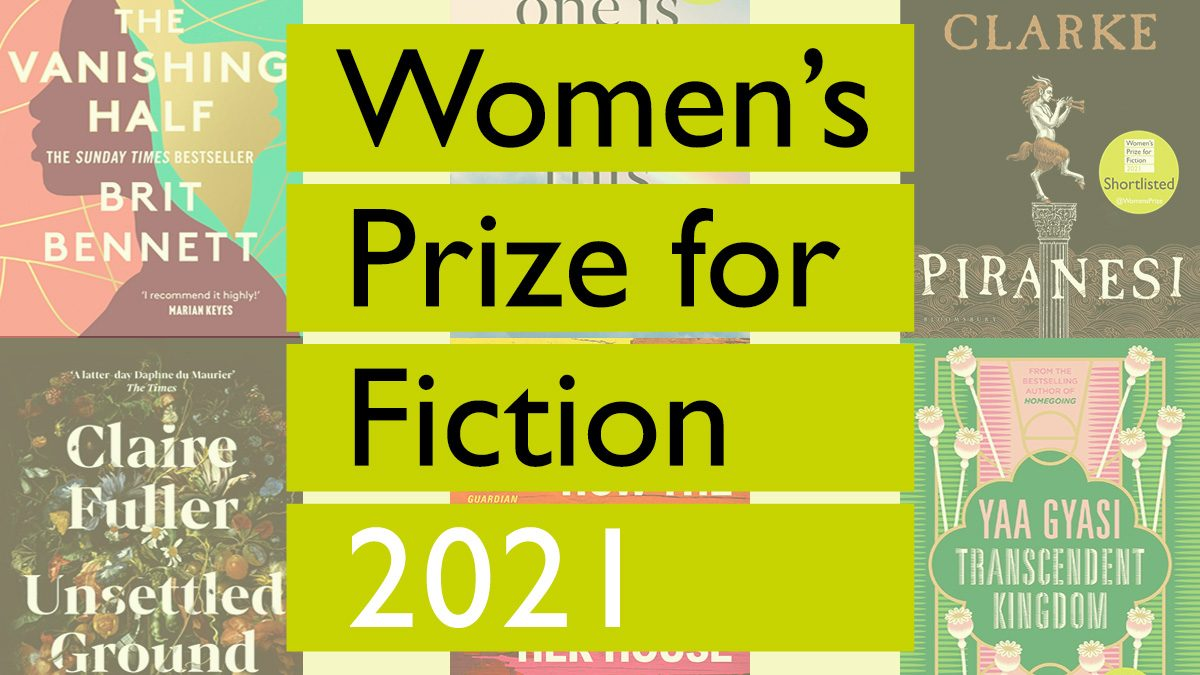 The Shortlist for Women's Prize For Fiction 2021
